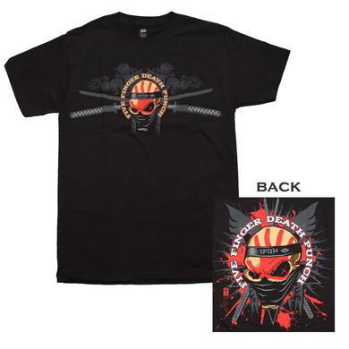 Five Finger Death Punch T Shirt | Five Finger Death Punch Samauri T-Shirt