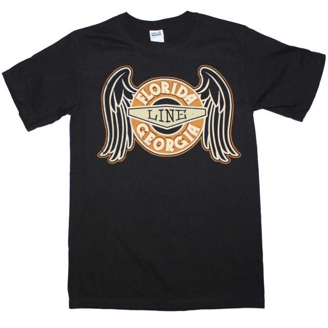Florida Georgia Line T Shirt | Florida Georgia Line Rings with Wings T-Shirt