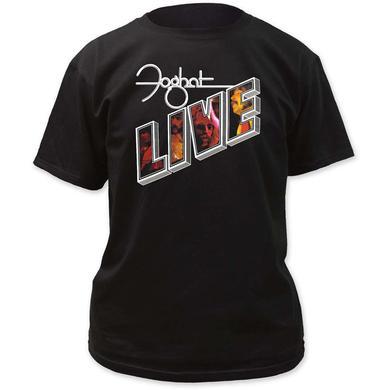 Foghat T Shirt | Foghat Live Adult Tee Shirt