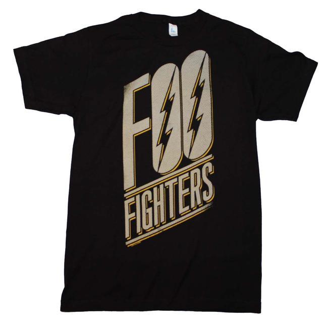 Foo Fighters T Shirt | Foo Fighters Slanted Logo Slim Fit T-Shirt