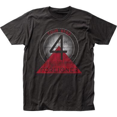 Foreigner T Shirt | Foreigner Tour 81-82 T-Shirt