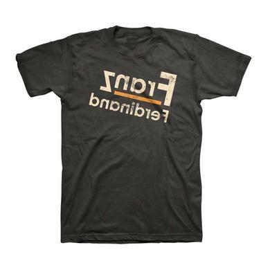 Franz Ferdinand T Shirt | Franz Ferdinand Reverse Logo Fitted T-Shirt