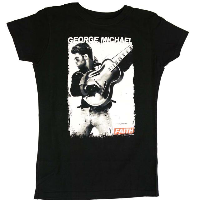 George Michael T Shirt | George Michael Faith Photo Juniors Tee