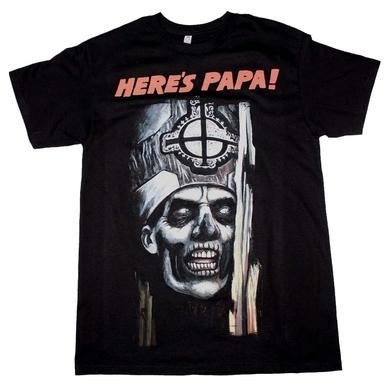 Ghost T Shirt | Ghost Here's Papa T-Shirt