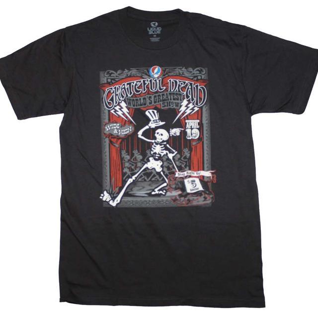 Grateful Dead T Shirt | Grateful Dead Show Time T-Shirt