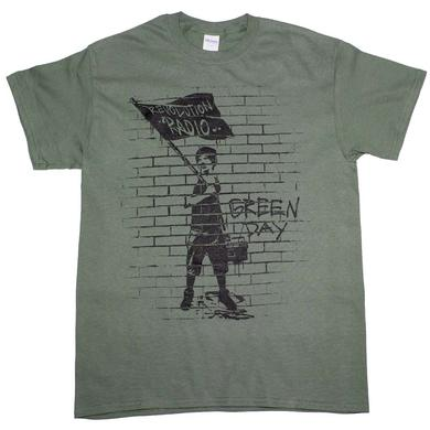 Green Day T Shirt | Green Day Flag Boy T-Shirt