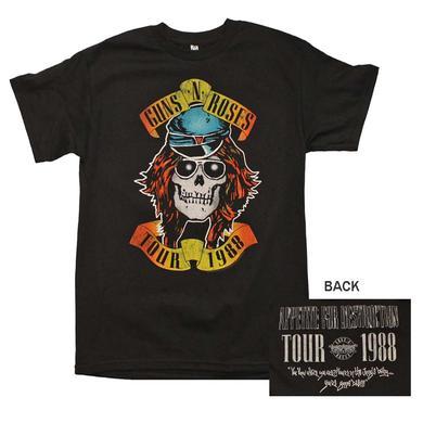 Guns n Roses T Shirt | Guns n Roses Appetite Tour 1988 T-Shirt