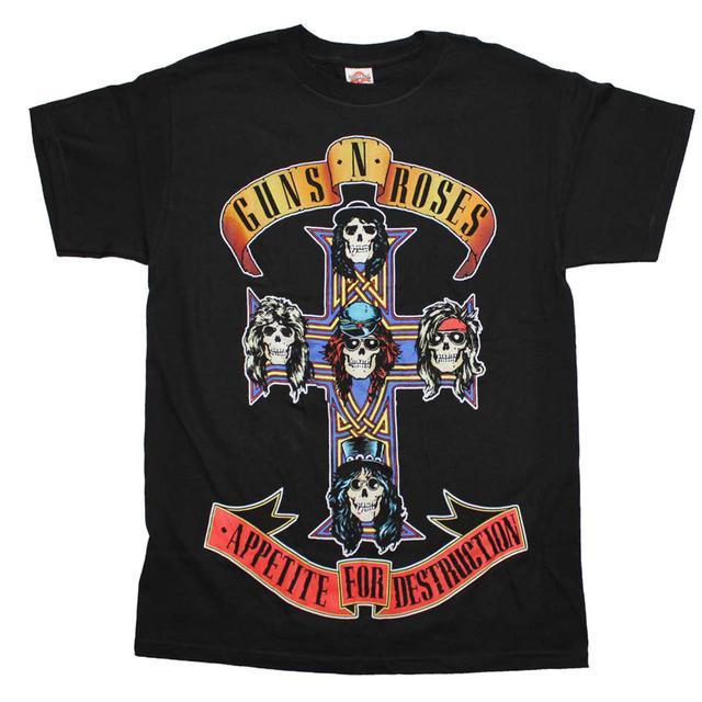 Guns n Roses T Shirt | Guns n Roses Appetite For Destruction Jumbo Print T-Shirt
