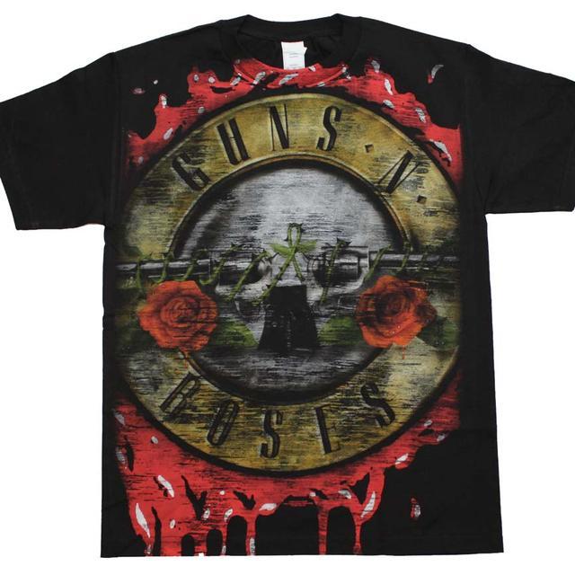 Guns n Roses T Shirt | Guns n Roses Bloody Bullet T-Shirt