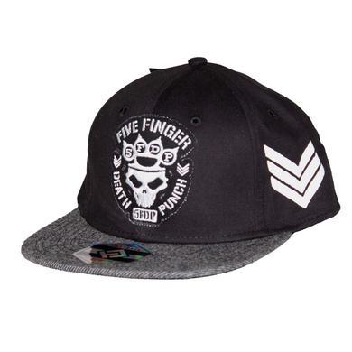Five Finger Death Punch Flat Bill Snapback Hat