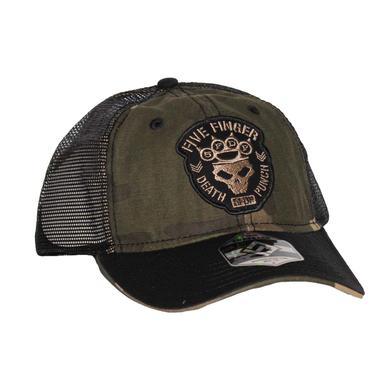 Five Finger Death Punch Camo Mesh Hat