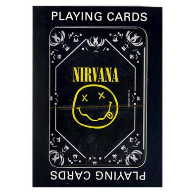 Nirvana Smiley Logo Playing Cards