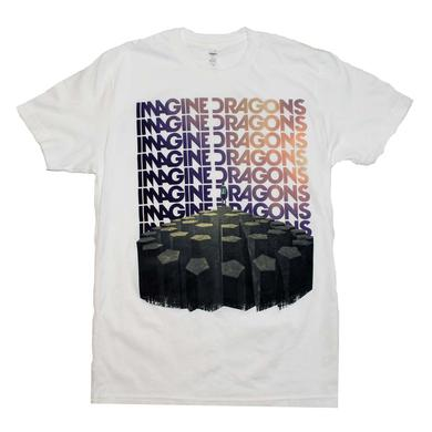 Imagine Dragons T Shirt | Imagine Dragons Repeat T-Shirt