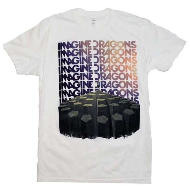 Imagine Dragons T Shirt   Imagine Dragons Repeat T-Shirt