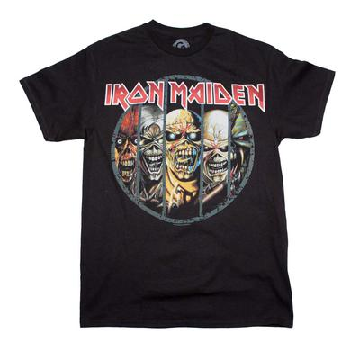 Iron Maiden T Shirt | Iron Maiden Eddie Evolution T-Shirt
