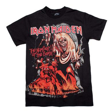 Iron Maiden T Shirt | Iron Maiden Number of the Beast T-Shirt