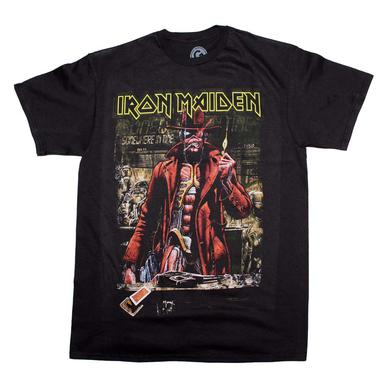 Iron Maiden T Shirt | Iron Maiden Stranger Sepia T-Shirt