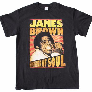 James Brown T Shirt | James Brown Godfather of Soul T-Shirt