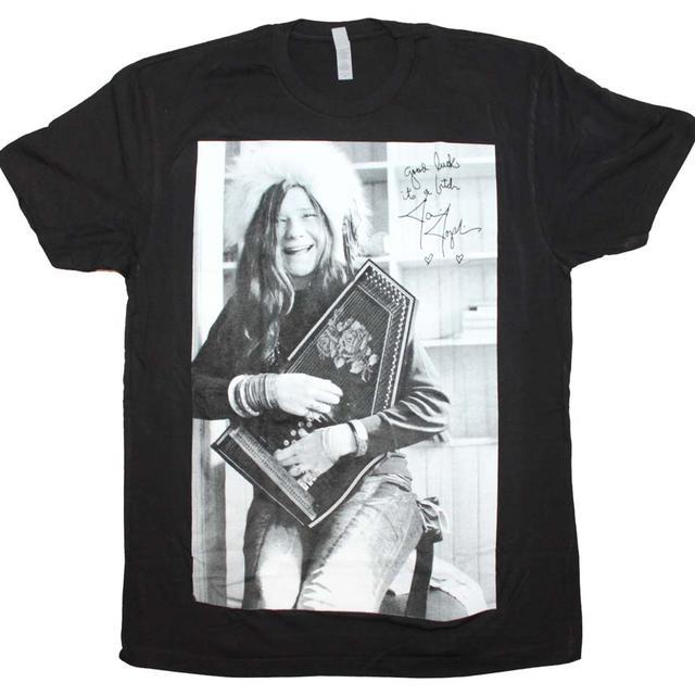 Janis Joplin T Shirt | Janis Joplin Good Luck Laugh T-Shirt