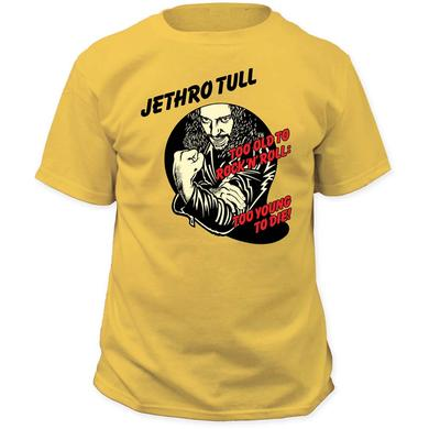 Jethro Tull T Shirt   Jethro Tull Too Young To Die T-Shirt