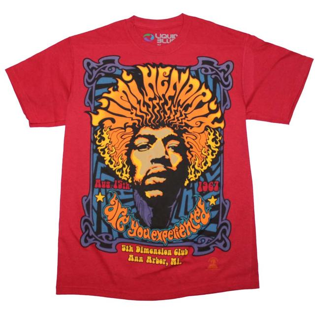 Jimi Hendrix T Shirt | Jimi Hendrix 5th Dimension T-Shirt