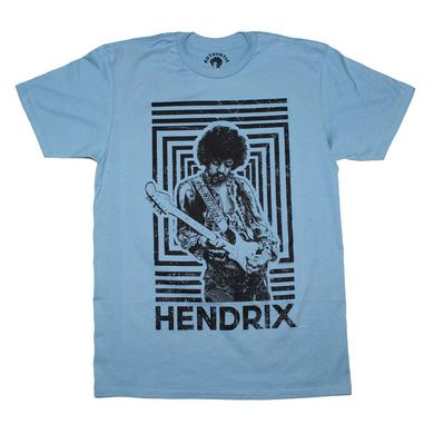 Jimi Hendrix T Shirt | Jimi Hendrix Authentic Squares T-Shirt