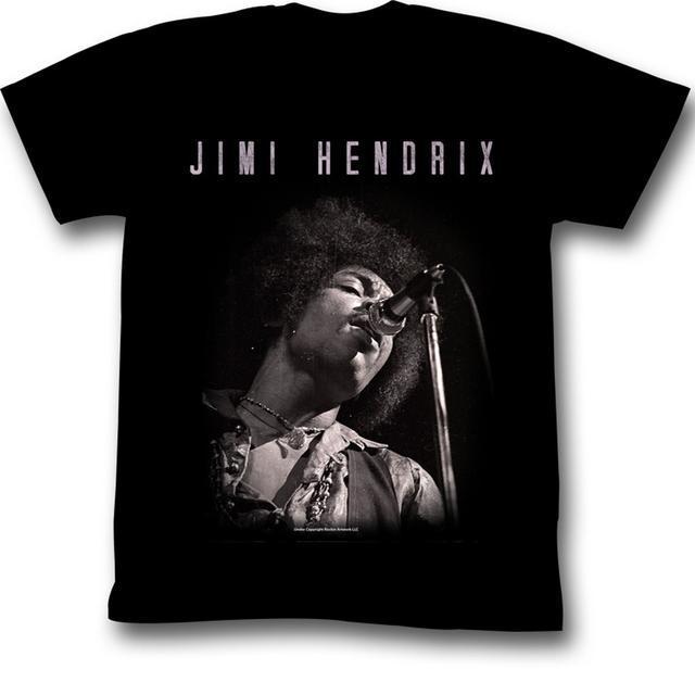 Jimi Hendrix T Shirt | Jimi Hendrix Jimi Black and White T-Shirt