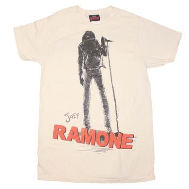 Ramones T Shirt | Joey Ramone Silhouette T-Shirt
