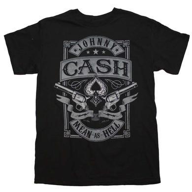 Johnny Cash T Shirt | Johnny Cash Mean as Hell T-Shirt