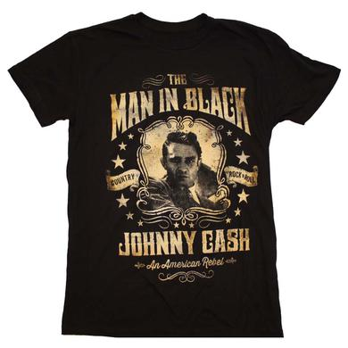Johnny Cash T Shirt | Johnny Cash Portrait T-Shirt