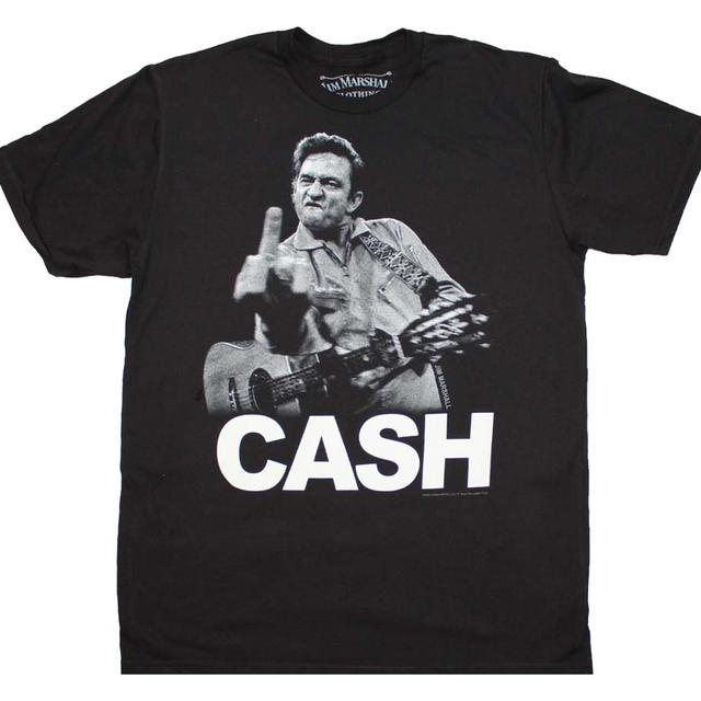 Johnny Cash T Shirt | Johnny Cash the Bird T-Shirt