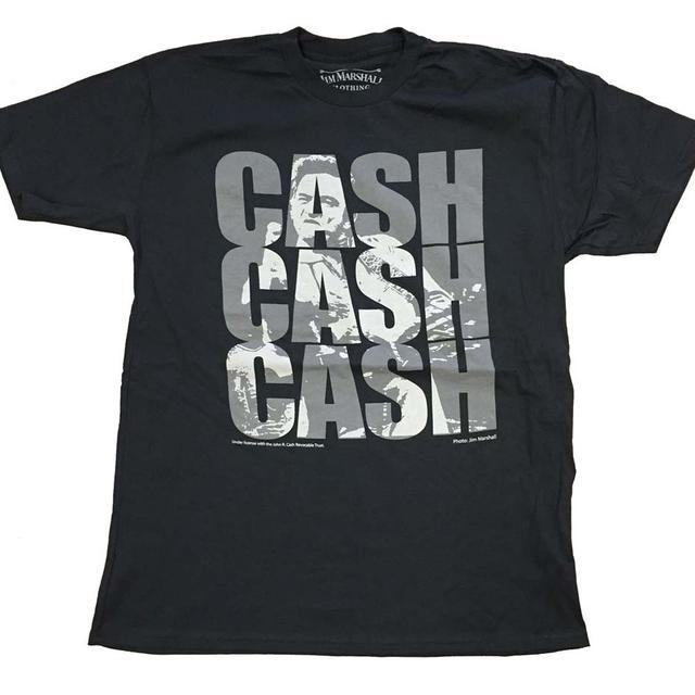 Johnny Cash T Shirt   Johnny Cash Triple Cash T-Shirt