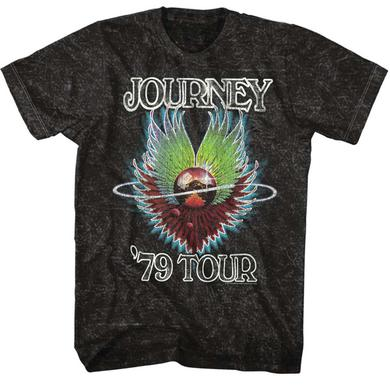 Journey T Shirt | Journey 1979 Mineral Wash T-Shirt