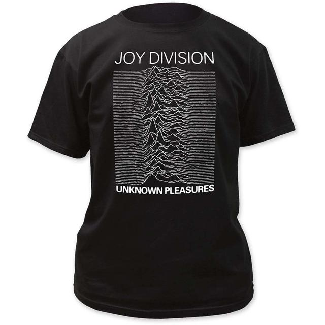 Joy Division T Shirt | Joy Division Unknown Pleasures T-Shirt