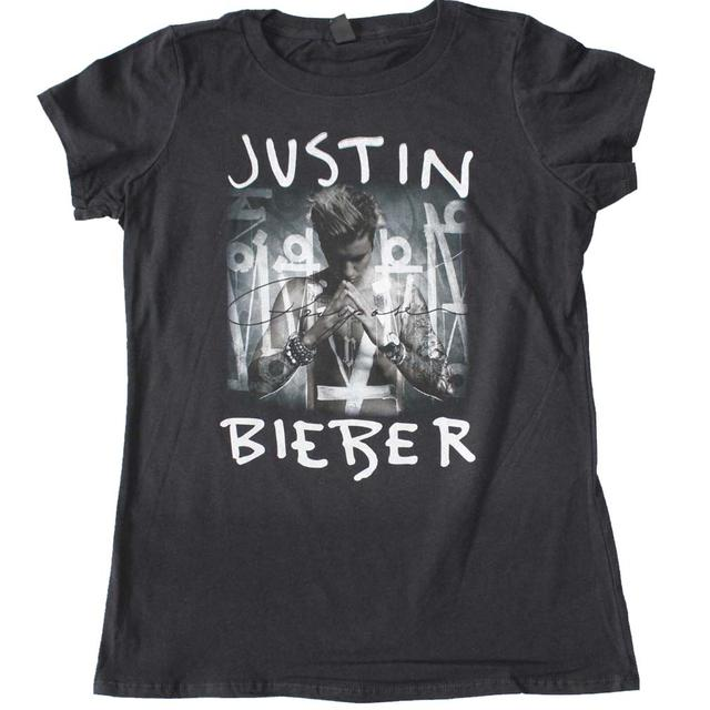 justin bieber purpose album cover juniors t shirt. Black Bedroom Furniture Sets. Home Design Ideas