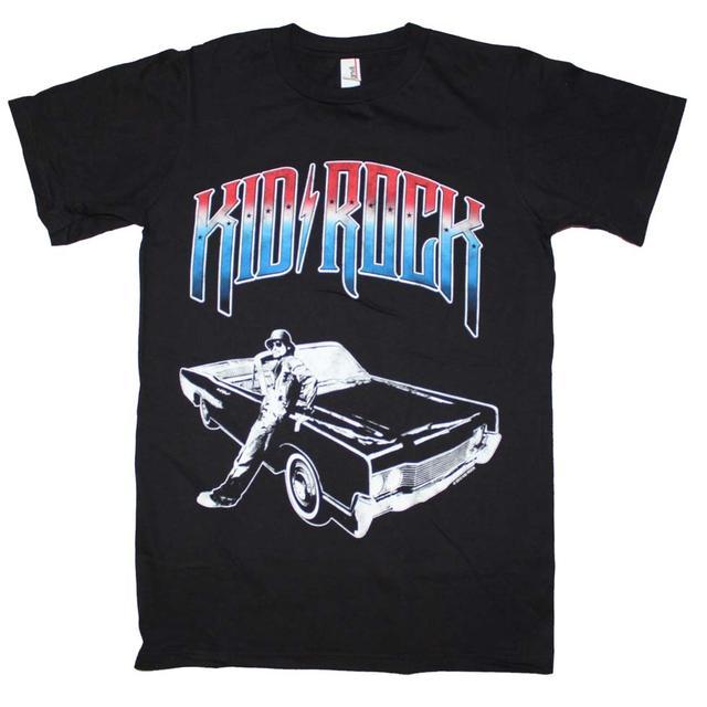 Kid Rock T Shirt | Kid Rock Chrome Logo T-Shirt