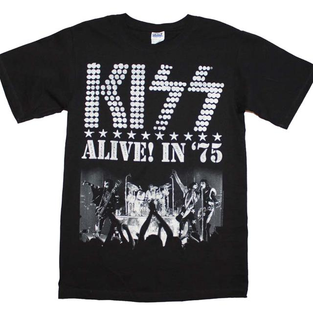KISS T Shirt | KISS Alive in 75 T-Shirt