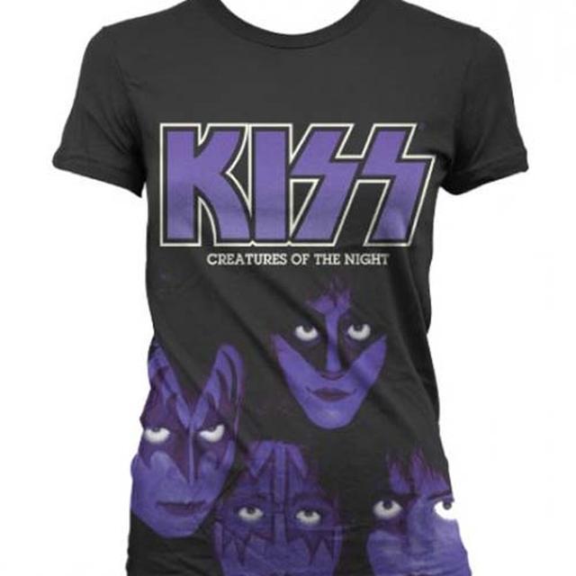 KISS T Shirt | KISS Creatures of the Night Women's Junior's T-Shirt