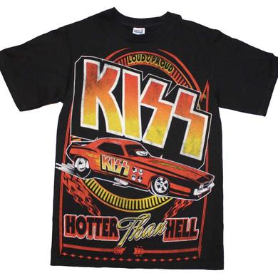 KISS T Shirt | KISS Hotter Than Hell Car T-Shirt