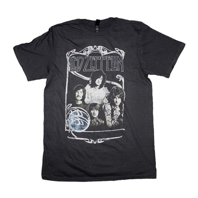Led Zeppelin T Shirt | Led Zeppelin 1969 Band Promo Photo T-Shirt