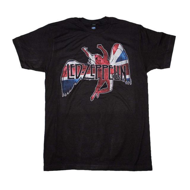 Led Zeppelin T Shirt | Led Zeppelin Icarus Flag T-Shirt