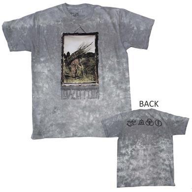 Led Zeppelin T Shirt | Led Zeppelin Man with Sticks Custom Dye T-Shirt