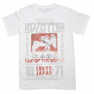 Led Zeppelin T Shirt | Led Zeppelin Tokyo '71 T-Shirt
