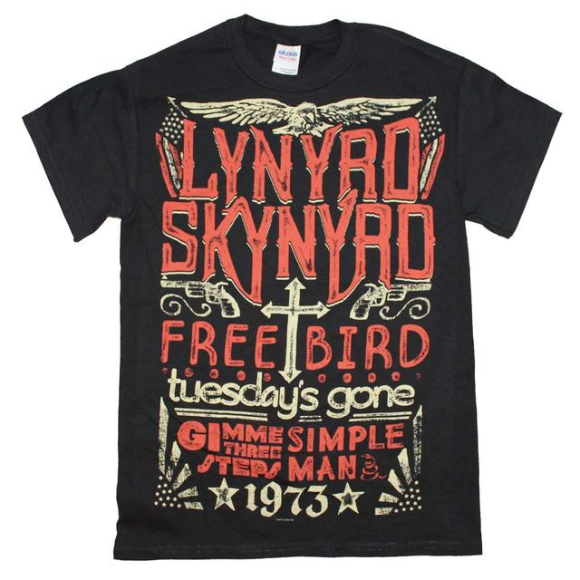 Lynyrd Skynyrd T Shirt | Lynyrd Skynyrd 1973 Hits T-Shirt
