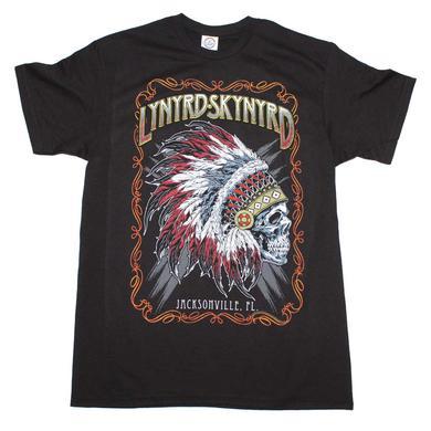 Lynyrd Skynyrd T Shirt | Lynyrd Skynyrd Indian Skeleton T-Shirt