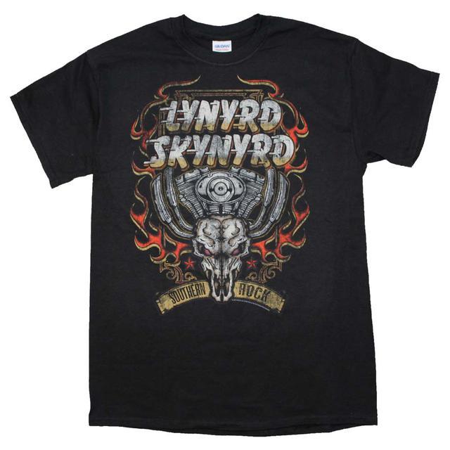 Lynyrd Skynyrd T Shirt | Lynyrd Skynyrd Motor Skull T-Shirt