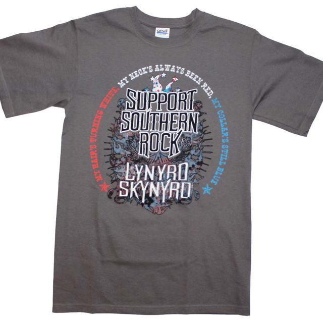 Lynyrd Skynyrd T Shirt | Lynyrd Skynyrd Support Southern Rock T-Shirt