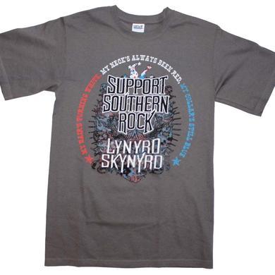 Lynyrd Skynyrd T Shirt   Lynyrd Skynyrd Support Southern Rock T-Shirt