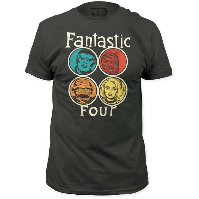 Marvel Comics Fantastic Four T Shirt | Marvel Comics Fantastic Four Circle Portrait T-Shirt