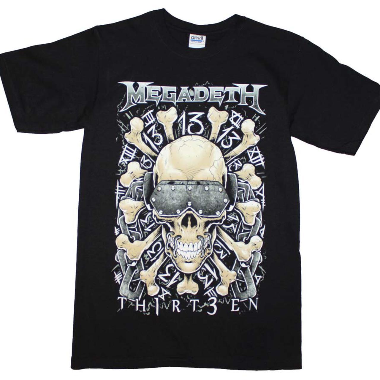 Megadeth T Shirt Megadeth Red Bones Regular T Shirt